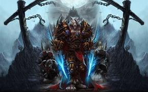 Картинка World of Warcraft, Ворген, Клинки