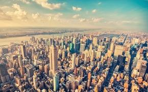 Картинка Нью-Йорк, Манхэттен, Manhattan