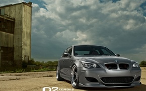 Картинка bmw, d2forged, 21wheels, e60