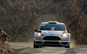 Картинка Ford, WRC, Rally, Fiesta, Monte Carlo, Передок, Evans