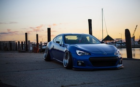 Обои stance, BellyScrapers, BRZ, low, Subaru, jdm