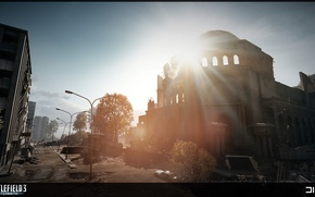 Картинка крепость, Battlefield 3, Aftermath, Premium
