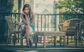 Картинка взгляд, кресло, ножки, Sandra