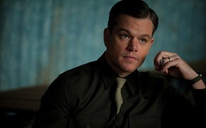 Картинка портрет, Мэтт Дэймон, Matt Damon, The Monuments Men