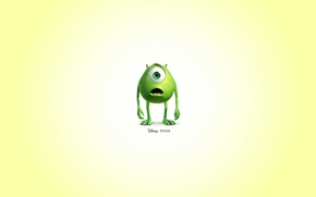 Обои pixar, disney, monster inc., mike