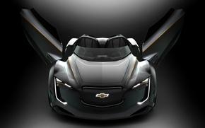 Картинка Concept, Roadster, Chevrolet, Chevrolet Concept, Chevrolet Wallpaper, Chevrolet Mi-ray Roadster Concept, Mi-ray