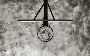 Картинка кольцо, щит, баскетбол