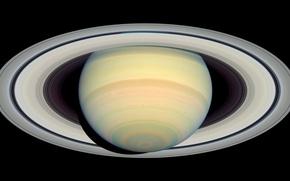 Картинка фото, планета, Сатурн, орбита, Saturn, наса, Cassini, кассини