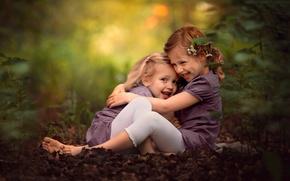 Картинка радость, девочки, смех
