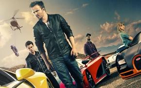 Картинка Koenigsegg CCX, Lamborghini Aventador, Need For Speed, Movie, 2014, Aaron Paul, Bugatti Veyron Super Sports, …