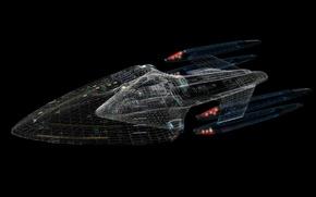 Картинка Star Trek, Autocad, The Enterprise