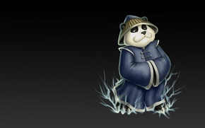 Картинка игра, арт, панда, Dota, Storm Spirit