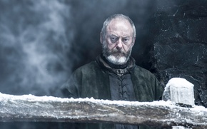 Картинка фэнтези, сериал, приключения, драма, Game of Thrones, Игра престолов, 6 season, Davos Seaworth, Liam Cunningham