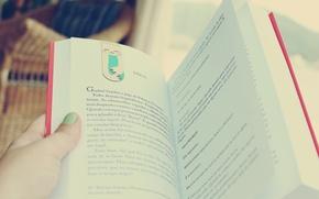 Картинка настроение, рука, книга, пальцы