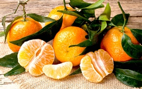 Картинка стол, еда, размытость, сад, зеленые, листочки, россыпь, цитрусы, витамины, ням-ням, orange, салфетка, боке, сочно, вкусно, …
