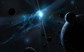 Картинка космос, звезды, планеты, space, walls, 1920х1080
