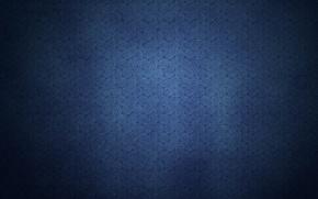 Картинка синий, спирали, узоры