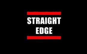 Картинка фон, черный, грань, edge, straight, четкая