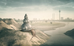 Картинка город, улитка, Urban Inspiration