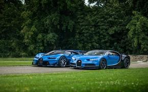 Обои газон, Bugatti, Gran Turismo, Chiron, Vision