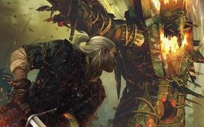 Картинка ведьмак, the witcher 2, Убийцы Королей, assassins of kings