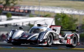 Картинка Audi, Ultra, R18, Le Mans 2012