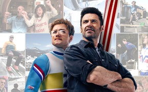 Картинка Eagle, Hugh Jackman, the, Men, Terry, Sport, EXCLUSIVE, 20th Century Fox, Man, Movie, Film, Mom, …