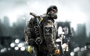 Обои Город, New York City, Оружие, Свет, Апокалипсис, Ubisoft Entertainment, Tom Clancy's The Division, Зима, Нью ...