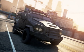 Картинка 2012, Need for Speed, nfs, SWAT, Truck, Most Wanted, нфс, NFSMW