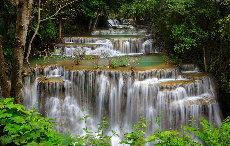 каскад водопадов картинки
