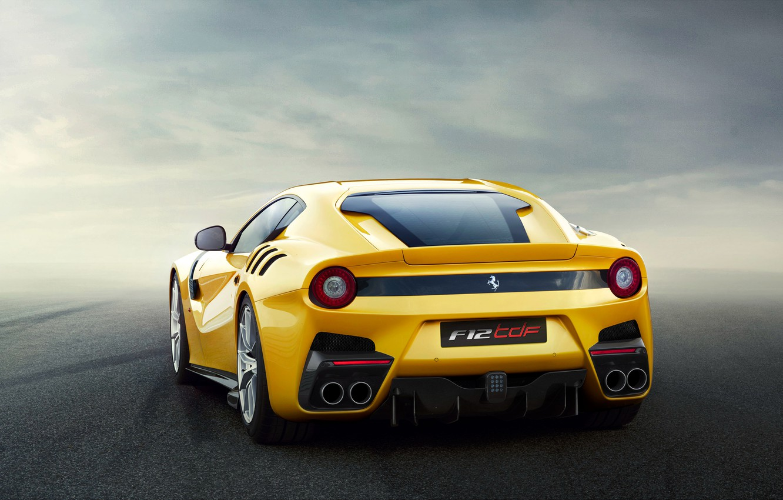 Фото обои Ferrari, феррари, F12, супркар