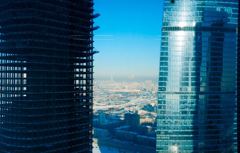 Обои стройка, небоскребы. Города foto 8