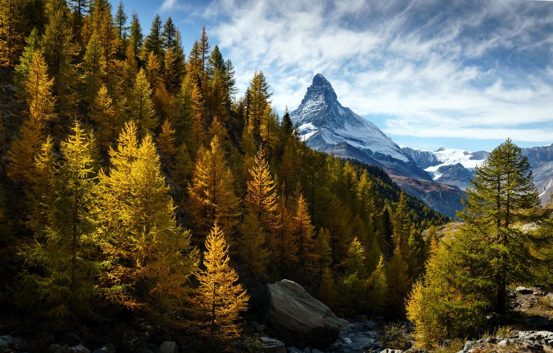 Фото обои Switzerland, Canton of Valais, Findeln
