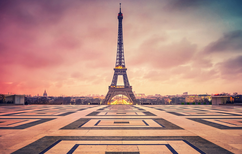 Обои france, paris, la tour eiffel, Эйфелева башня. Города foto 6