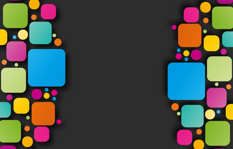 Фото обои colors, colorful, abstract, rainbow, background, geometry, shapes