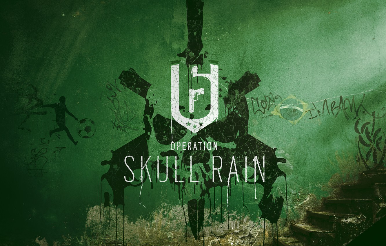 Фото обои Ubisoft, Game, Tom Clancy's Rainbow Six: Siege, Skull Rain
