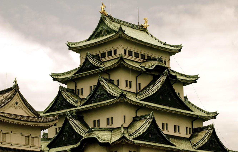 Фото обои здание, крыши, Китай, Азия