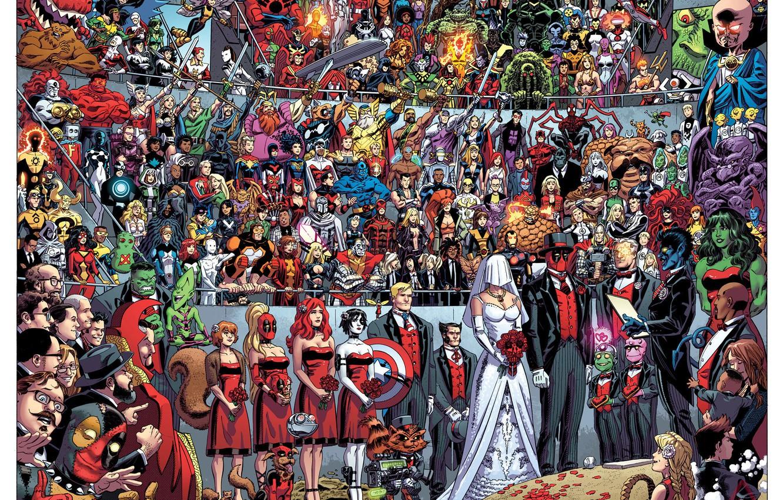 Фото обои Deadpool, Marvel, Дэдпул