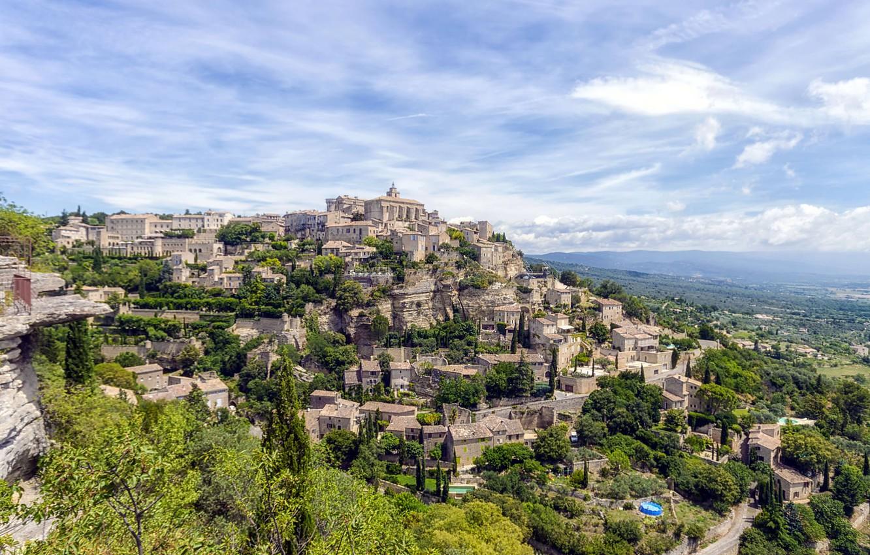 Обои france, Пейзаж, здания, городок, дома. Города foto 13