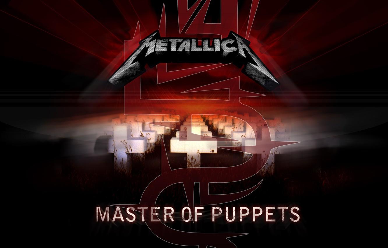 Фото обои музыка, кресты, music, Мастер, альбом, Rock, Рок, Metallica, трэш-метал, album, thrash metal, 1986, Металлика, Кукловод, …