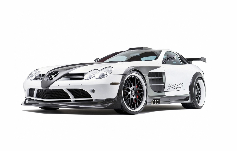 Фото обои Mercedes-Benz, SLR Volcano, Hamann