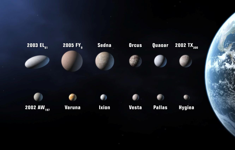 Обои земля, астероиды. Космос foto 7