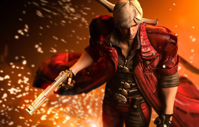 Фото обои demon, Dante, Capcom, devil may cry 4