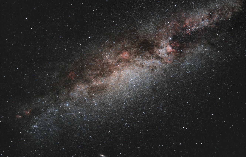 Фото обои космос, звезды, ночь, млечный путь