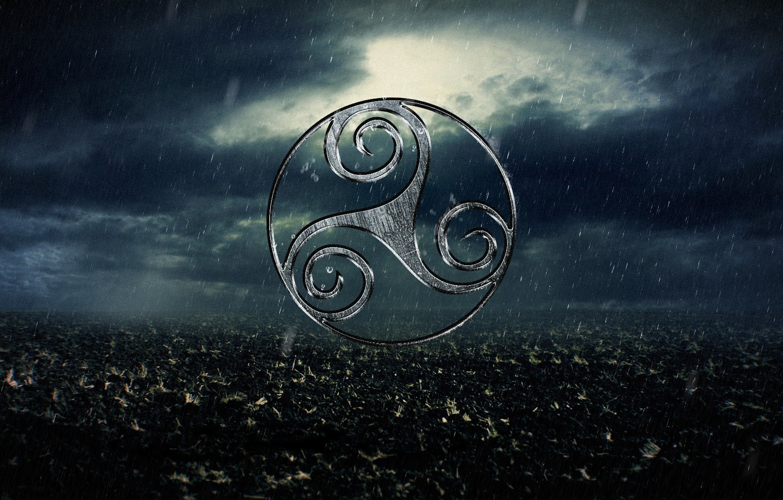 Фото обои nature, sign, celtic, Trisken