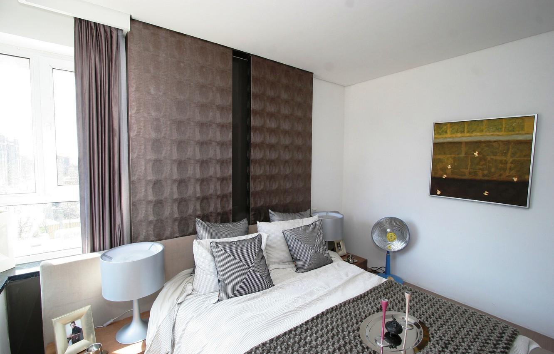 Фото обои дизайн, стиль, комната, мебель, кровать, интерьер