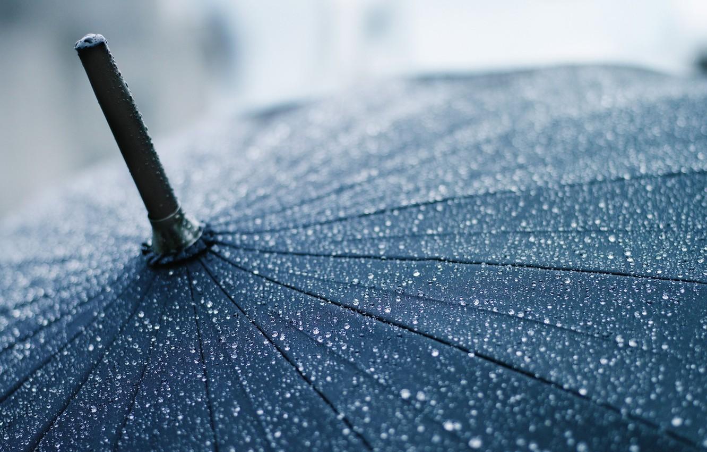 Обои дождь, зонт, капли. Разное foto 9