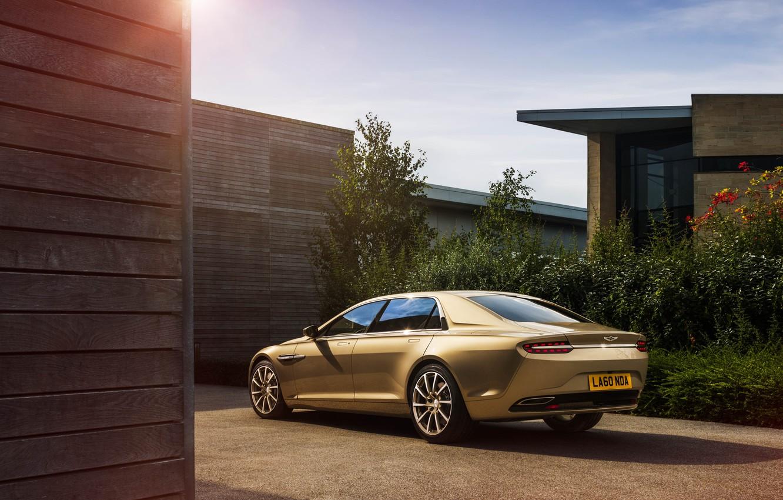 Фото обои Aston Martin, Prototype, Lagonda, 2014