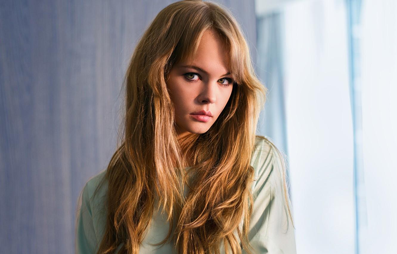Фото обои взгляд, девушка, милая, модель, волосы, красавица, красивая, русая, Настя, Анастасия Щеглова, Anastasiya Scheglova