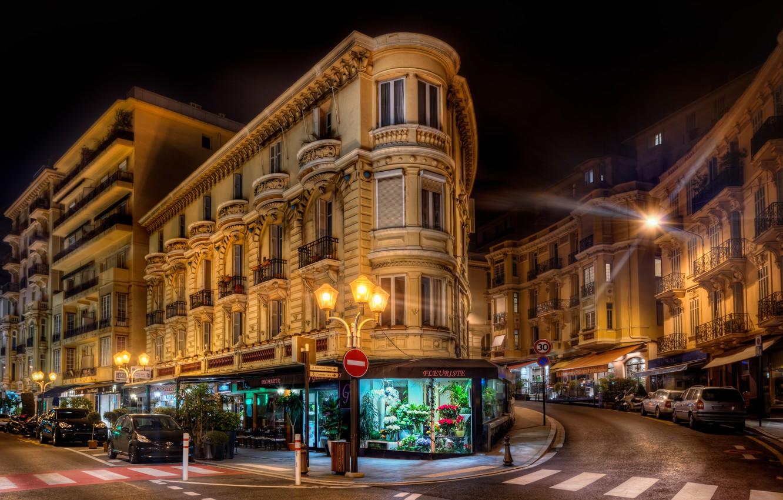 Обои тротуар, здания, свет. Города foto 7
